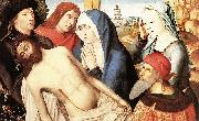 Lamentation Master of the Legend of St. Lucy