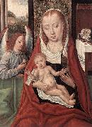 Virgin and Child with an Angel Master of the Legend of St. Lucy