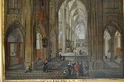 View of the interior of a church Pieter Neefs