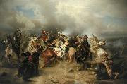Battle of Lutzen Carl Wimar