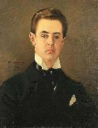 A Portrait of the Artist Son, Maurice Vaclav Brozik
