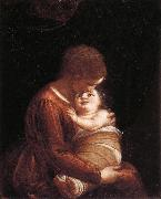 Madonna and Child CAMBIASO, Luca