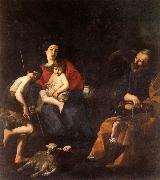 The Rest on the Flight into Egypt CARACCIOLO, Giovanni Battista