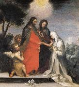 The Mystic Marriage of St.Catherine of Siena Francesco Vanni