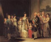 The Family of Charles IV Francisco de goya y Lucientes