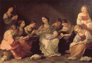 The Girlhood of the Virgin Mary Guido Reni