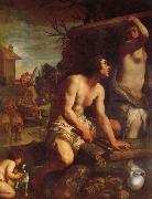 The Building of Noah's Ark Guido Reni