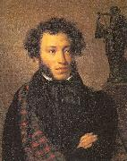 Portrait of the Poet Alexander Pushkin Kiprensky, Orest