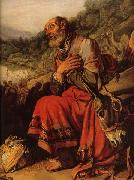 Detail of Abraham on the Way to Canaan LASTMAN, Pieter Pietersz.