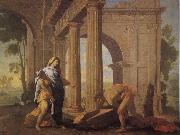 Theseus Finding His Father's Arms POUSSIN, Nicolas
