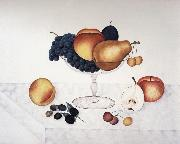 Fruit in a Glass Compote Cady Emma Jane