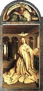 Mary of the Annunciation EYCK, Jan van