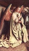 Angel of the Annunciation EYCK, Jan van