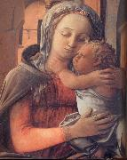 Details of Madonna and Child Enthroned Fra Filippo Lippi
