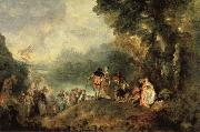 Embarkation from Cythera Jean-Antoine Watteau