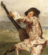 Details of The Music-Party Jean-Antoine Watteau