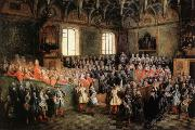Solemn Session of the Parliament for KingLouis XIV,February 22.1723 LANCRET, Nicolas