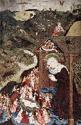 Adoration of the Child MASTER of the Polling Panels