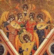 Details of te coronation of the virgin Paolo Veneziano