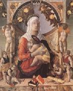 The Virgin and Child Surrounded by Eight Angels (mk05) Marco Zoppo