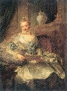 The Wife of Joachim Ulrich Giese Matthieu, Georg David