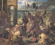 Entry of the Crusaders into Constantinople on 12 April 1204 (mk05) Eugene Delacroix
