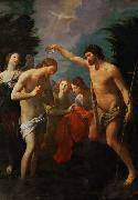 The Baptism of Christ (mk08) Guido Reni