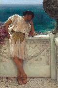 The Poet Gallus Dreaming (mk23) Alma-Tadema, Sir Lawrence