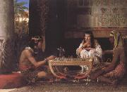 Egyptian Chess Players (mk23) tadema