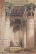 David Roberts,Portico of the Temple of Isis at Philae (mk23) tadema