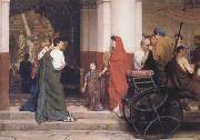 Entrance to a Roman Theatre (mk23) tadema