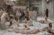 The Women of Amphissa (mk23) tadema