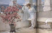 Her Eyes Are with her Thoughts and They Are Far Away (mk23) tadema