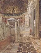 Interior of the Church of San Clemente (mk23) tadema