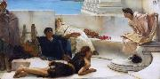 A Reading from Homer (mk23) tadema