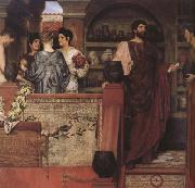 Hadrian Vistiting a Romano-British Pottery (mk23) tadema