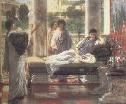 Catullus Reading his  Poems at Lesbia's House (mk23) tadema