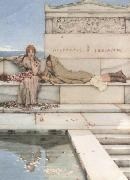 Xanthe and Phaon (mk23) tadema