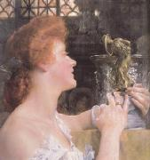 The Golden Hour (mk23) Alma-Tadema, Sir Lawrence