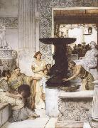 The Sculpture Gallery (mk23) Alma-Tadema, Sir Lawrence