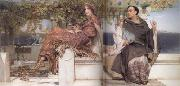 The Conversion of Paula by Saint Jerome (mk23) Alma-Tadema, Sir Lawrence