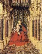 The Virgin and Child in a Church EYCK, Jan van