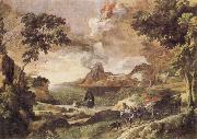 Landscape with St Augustine and the Mystery of the Trinity Gaspard Dughet
