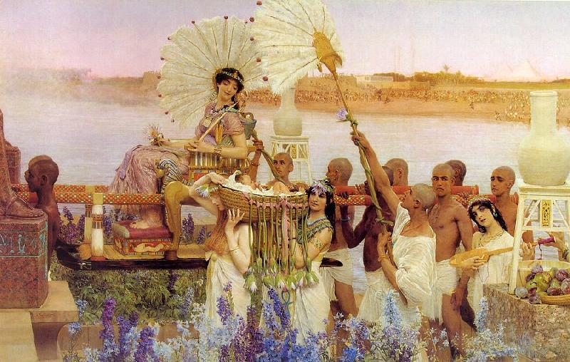 Alma Tadema The Finding of Moses