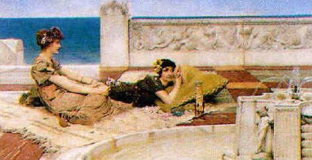Alma Tadema Love's Votaries