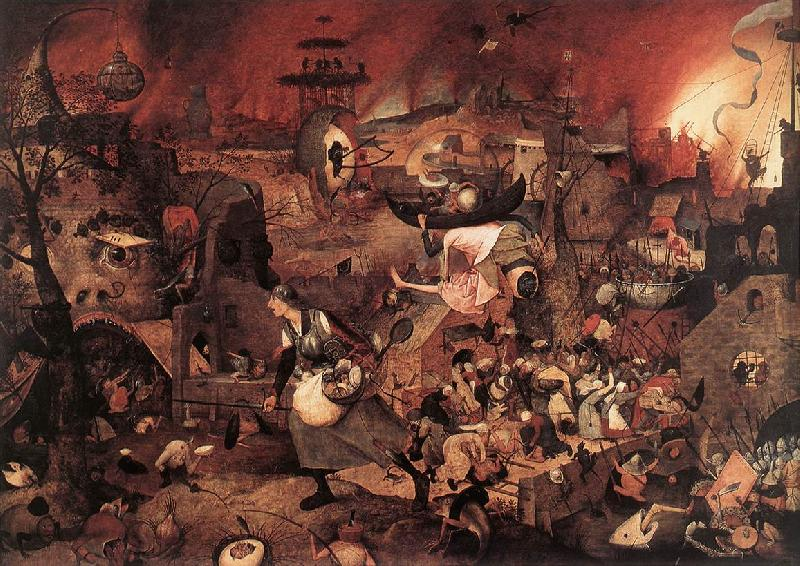 BRUEGEL, Pieter the Elder Dulle Griet (Mad Meg) fg