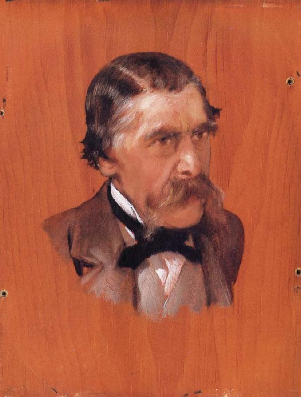 Alma-Tadema, Sir Lawrence Portrait of Sir Henry Thompson