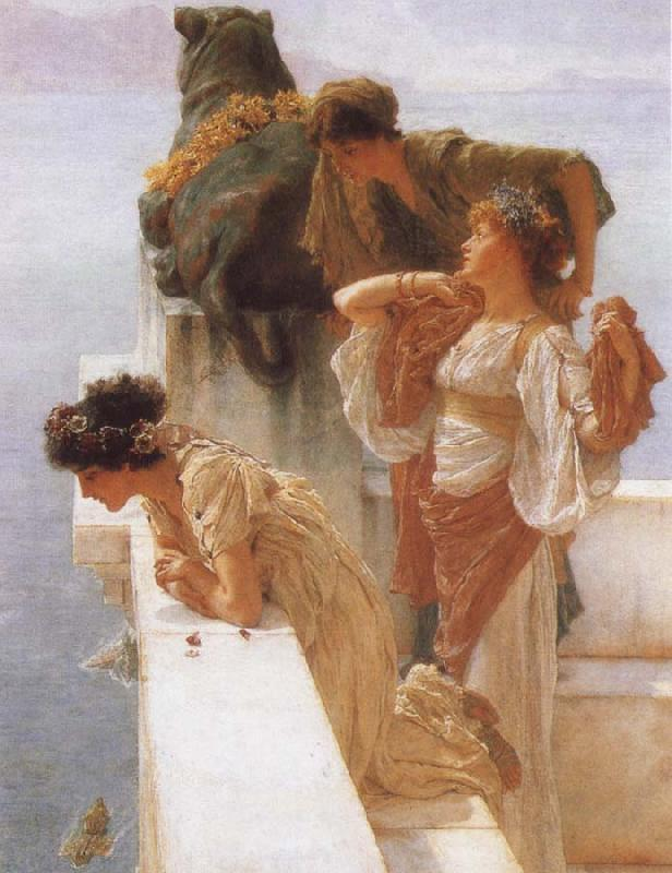 Alma-Tadema, Sir Lawrence A Coign of Vantage