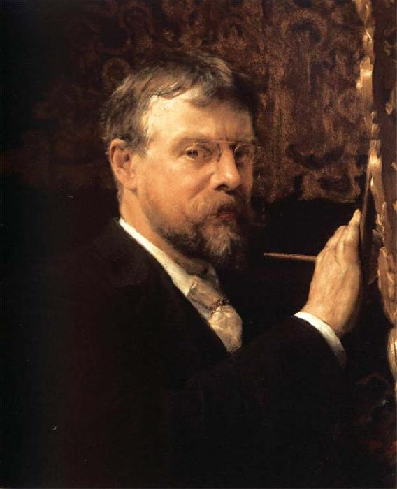 Sir Lawrence Alma-Tadema,OM.RA,RWS Self-Portrait