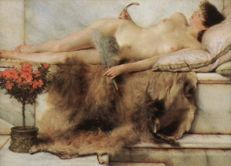Alma-Tadema, Sir Lawrence the tepidarium